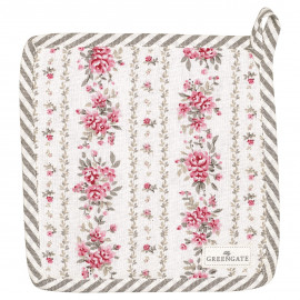 Pot holder Flora vintage set of 2 pcs