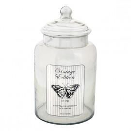 Glass storage butterfly